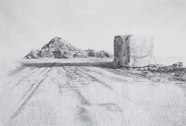 Exposición Ginebra 2011 - Montaña artificial N2 - Andrés Moya